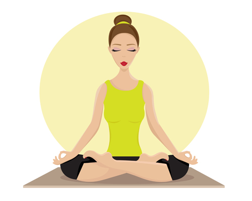 yoga slows aging